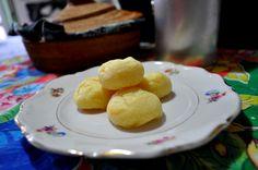 Pão de batata com queijo