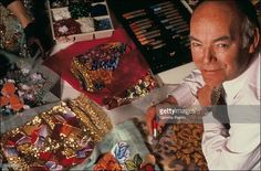 Francois Lesage poses in his workshop during June 1991 in Paris,France. François Lesage, Cartier Perfume, Viktor Rolf, Christian Lacroix, John Galliano, Jean Paul Gaultier, Karl Lagerfeld, Style Icons, The Voice
