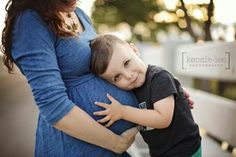 Aww toddler and prego mama photography.