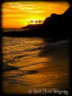 Laguna Beach California Sunset 8x10 Fine by BMissickPhotography, $20.00
