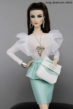 *Meg* outfit for  Fashion Royalty, /FR 12'/FR2/''GLAM MINT''