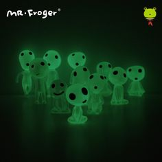 Alien Figurine Toys Fluorescent