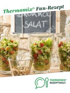 Brokkolisalat mit Pinienkernen von Thermomix Rezeptentwicklung. Ein Thermomix ® Rezept aus der Kategorie Vorspeisen/Salate auf www.rezeptwelt.de, der Thermomix ® Community.