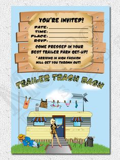 Trailer Trash Bash Party Package