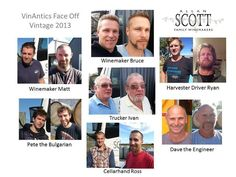 The boys from Allan Scott Wines took part in the VinAntics Face Off competition, harvest 2013 New Zealand. Here's their final faces!