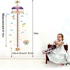 Aliexpress.com : Buy Amusement Park measure 60*180cm height wall stickers /kids wall stickers decorative painting background wallpaper, WS 38 from Reliable Amusement Park height wall stickers suppliers on SW-STAR Rainbow Home $6.59
