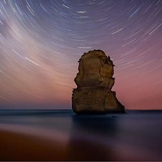 Starry starry night at the 12 Apostles... #visitgreatoceanroad Photo by @magichourtravelscapes by visitgreatoceanroad http://ift.tt/1ijk11S