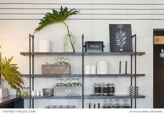 Beautiful shelve in restaurant | Ginger and Fig restaurant | Photographer : Marsel Roothman