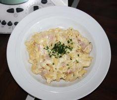 Rezept Käse- Schinken-Nudeln von Oleana79 - Rezept der Kategorie sonstige Hauptgerichte