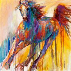 Barbara Meikle is my favorite equine artist!