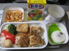Airline Food From Around the World