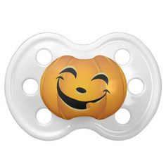 Jack-O-Lantern | Baby's First Halloween Pacifiers