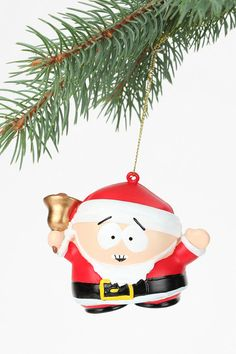 South Park Ornament #holiday #urbanoutfitters    ...BTW, GET YOUR SOUTH PARK APP:  https://play.google.com/store/apps/details?id=com.JERASeng.Worldsouthpark