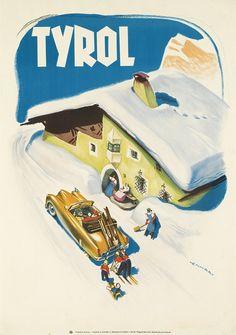 Tyrol, Entwurf Franz J. Lenhart, Italien 1952