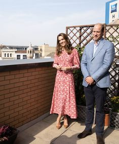 Kate Middleton in Beulah London Rose Shirtdress for Visit to East London - Dress Like A Duchess