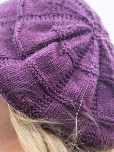 Charlotte Hat, Fiora yarn | Berroco FREE