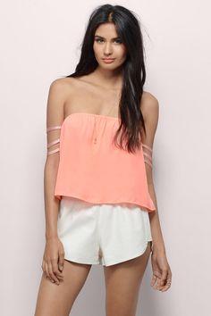 Less Sleeve Top at Tobi.com #shoptobi