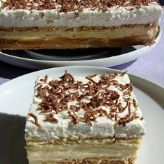3 Bit (sütés nélkül) - I just LOVE this one! My favorite dessert after cheesecake! Hungarian Desserts, Hungarian Recipes, Sweet Desserts, No Bake Desserts, Dessert Recipes, Cheesecake, Austrian Recipes, Good Food, Yummy Food