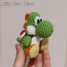Yoshi-Inspired Amigurumi Written Pattern