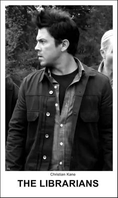 Jake Stone (Christian Kane) in TNT'S Librarians- Made by Ladee Leverage