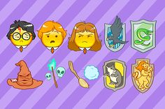 <b>Now you finally have an emoji for when you flunk your potions exam.</b>