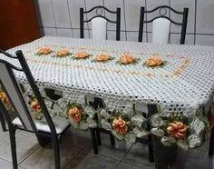 20 maravilhosas toalhas para enfeitar sua mesa-veja