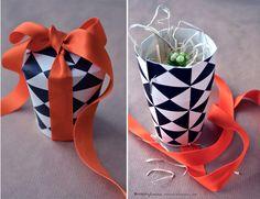 Engångsmuggs presentask/ Papercup giftbox | DIY Mormorsglamour