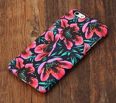 Elegant Chic Pink Floral Design iPhone 6 Case/Plus/5S/5C/5/4S Protective Case –…