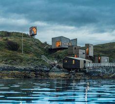 archatlas: Fordypningsrommet Fleinvaer Cabins An isolated...
