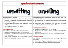 UNWITTING VS UNWILLING#c1advanced# #c2proficiency# #opencloze #usedto #key word transformation #opencloze #keywordtransformation #gappedtext Cambridge English. Advanced grammar - grammaire anglaise avancée - Gramática inglesa avanzada - fortgeschrittene englische Grammatik - προηγμένη αγγλική γραμματική -zaawansowana gramatyka języka angielskiego