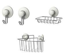 Bathroom Accessories Set Ceramic Black White Radiance Ideas