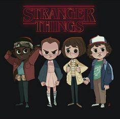 Fanart stranger things