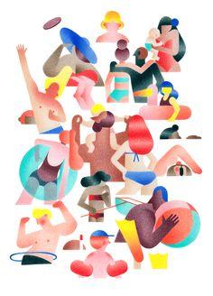 Beautifull Illustration by Anne Margot Ramstein
