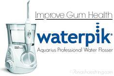 Improve Gum Health with Waterpik Water Flosser