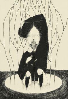Canas Verdes: Una flor de Monica Barengo