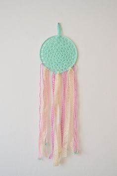 Crochet dreamcatcher. $30,00, via Etsy.