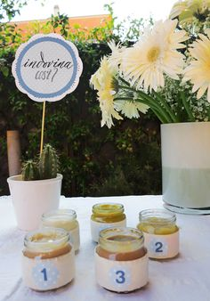 Baby Shower Ideas: baby food tasting! with @marikasalerno