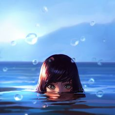 ArtStation - Sea, Ilya Kuvshinov