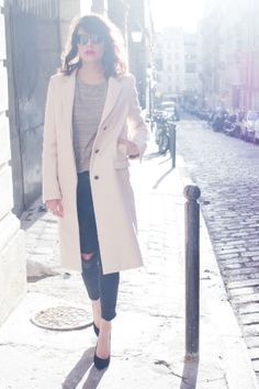 That pink coat
