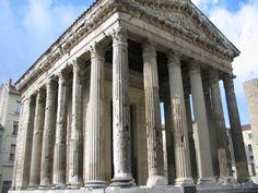 Templo de Augusto y Livia en Vienne