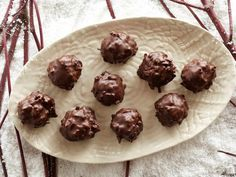 Day 11 of #12DaysOfCookies: Chocolate Coconut Balls