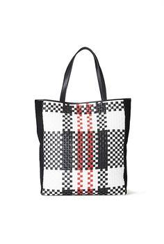My latest bag - Woven Check Shopper Tote