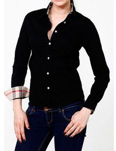 Camisa Burberry Preto. De 149€ por 59,60€.
