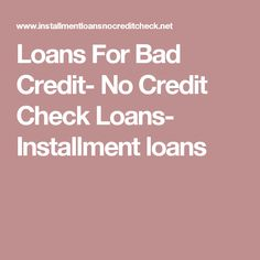 98 Best Loans for Bad Credit images in 2019 | Apply for a