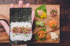 Gonpachi's Harajuku location is a temaki sushi specialty shop