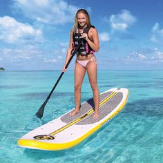 Airhead Na Pali Inflatable Stand Up Paddle Board (iSUP) with Seat, Pump & Backpack Sup Stand Up Paddle, Inflatable Sup, Standup Paddle Board, Sup Surf, Learn To Surf, Remo, Boat Rental, Wakeboarding, Paddle Boarding