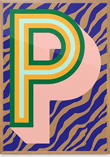 POP! Poster — P (zeebra)