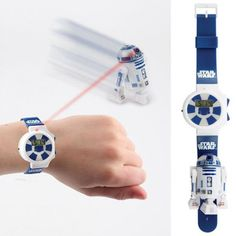 Control a Tiny R2-D2 With This Remote Control Star Wars Watch | Fashionably Geek