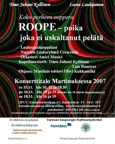 Roope 2007