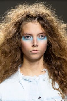 Beauty at Marques'Almeida Spring / Summer 2015 / Make up runway London fashion week RTW ss 2015
